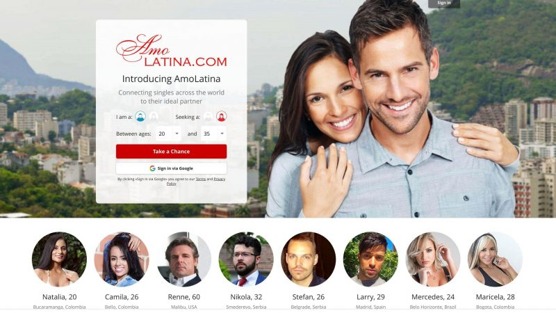 Amo Latina Dating Site Post Thumbnail